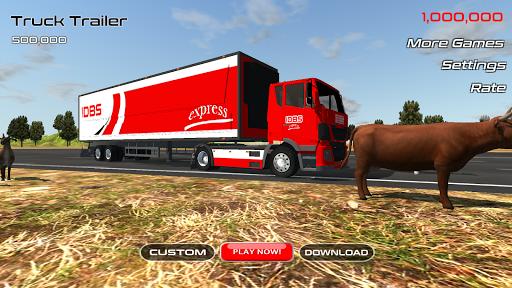 بازی اندروید تریلر کامیون - IDBS Truck Trailer