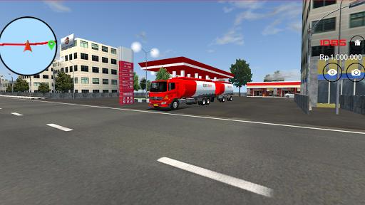 بازی اندروید کامیون نفت کش - IDBS Truk Tangki