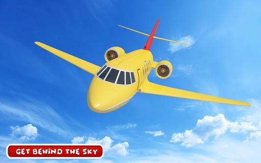 بازی اندروید پرواز خلبان شهر - Aeroplane Games: City Pilot Flight
