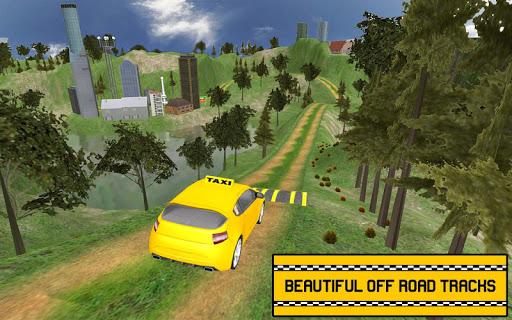 بازی اندروید شبیه ساز تاکسی 2018 - Hill Taxi Simulator Games 2018
