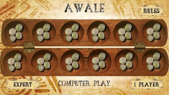 بازی اندروید اواری آنلاین - Awale Online - Oware Awari
