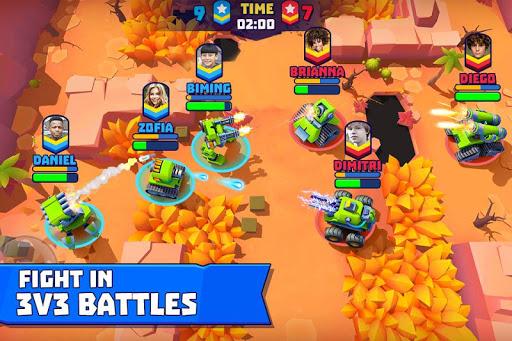 بازی اندروید تانک های زیادی - میدان جنگ چند نفره - Tanks A Lot! - Realtime Multiplayer Battle Arena