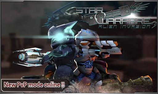 بازی اندروید جنگ ستاره - تهاجم بیگانه - Star Warfare:Alien Invasion HD