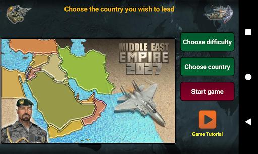 بازی اندروید امپراتوری خاورمیانه 2027 - Middle East Empire 2027
