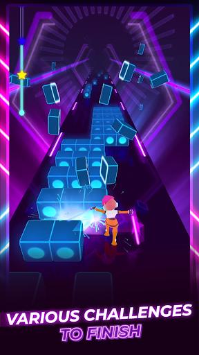 بازی اندروید بیت بیلدر - دش اسلش - Beat Blader 3D: Dash and Slash!