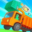 کامیون زباله دایناسور - بازی برای بچه ها