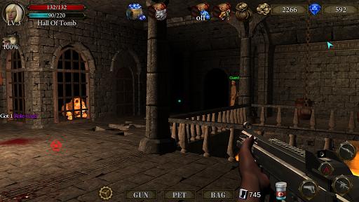 بازی اندروید تیرانداز سیاه چال - معبد فراموش شده - Dungeon Shooter V1.3 : The Forgotten Temple