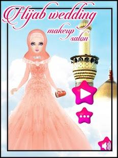بازی اندروید آرایش عروس با حجاب - Hijab Wedding Makeover
