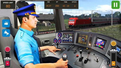 بازی اندروید شبیه ساز راننده قطار شهر - بازی رایگان قطار - City Train Driver Simulator 2019: Free Train Games
