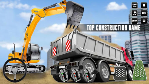 بازی اندروید شبیه ساز ساخت و ساز شهر - بازی کامیون لیفتراک - City Construction Simulator: Forklift Truck Game