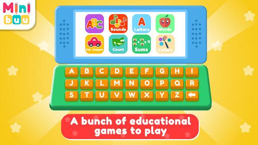 بازی اندروید کامپیوتر کودکان - Kids Computer
