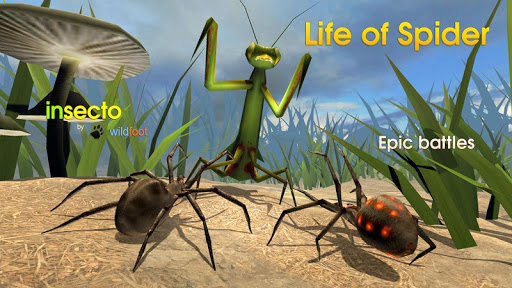 بازی اندروید زندگی عنکبوتی - Life of Spider