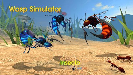 بازی اندروید زنبور عسل - Wasp Simulator