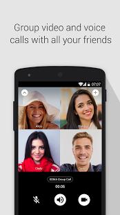 نرم افزار اندروید سما - تماس تصویری رایگان - SOMA free video call and chat