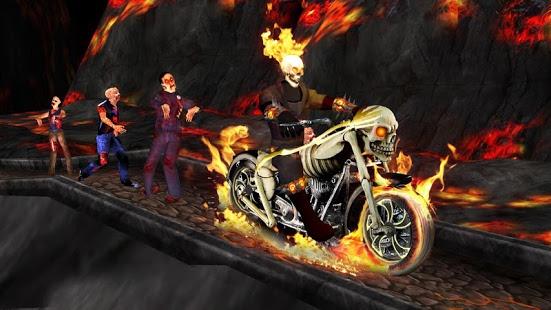 بازی اندروید شبح سوار - Ghost Ride 3D