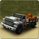 راننده کامیون جاده خاکی