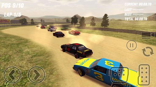 بازی اندروید پیست ماشین های بورس - Dirt Track Stock Cars
