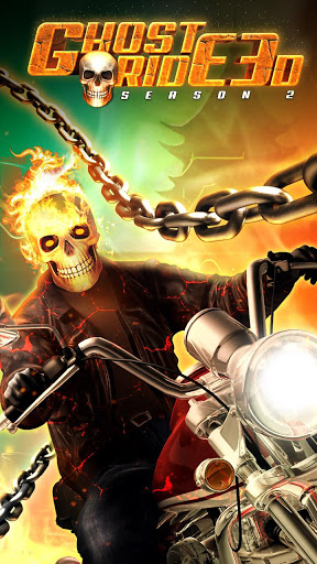 بازی اندروید شبح موتور سوار - Ghost Ride 3D Season 2
