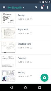 نرم افزار اندروید کم اسکنر - CamScanner -Phone PDF Creator