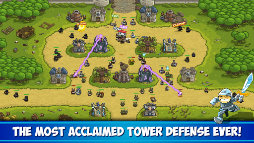 بازی اندروید یورش پادشاه - بازی برج دفاعی - Kingdom Rush - Tower Defense Game