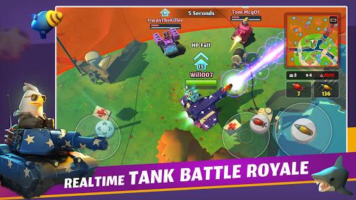 بازی اندروید نبرد سر به سر - تانک رویال - PvPets: Tank Battle Royale