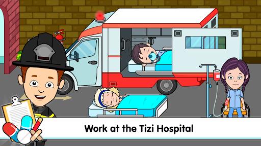 بازی اندروید بیمارستان شهر من تیزی - بازی پزشکان برای کودکان - My Tizi Town Hospital - Doctor Games for Kids