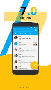 نرم افزار اندروید گو اس ام اس - GO SMS Pro