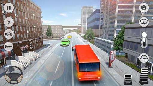 بازی اندروید شبیه ساز اتوبوس بین شهری - City Coach Bus Simulator 2020 - PvP Free Bus Games