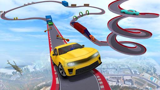بازی اندروید استاد دیوانه رانندگی ماشین - بازی جدید اتومبیل - Crazy Car Stunt Driving Games - New Car Games 2021