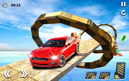 بازی اندروید مسابقه اتومبیل استاد مگا رمپ - بازی های رایگان 2020 - Mega Stunt Car Race Game - Free Games 2020