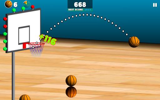 بازی اندروید شلیک بسکتبال - Basketball Sniper
