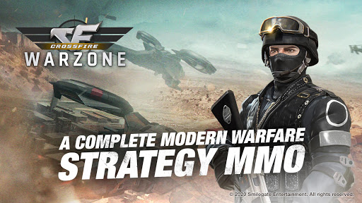 بازی اندروید تبادل آتش - جنگ استراتژیک - Crossfire: Warzone - Strategy War Game