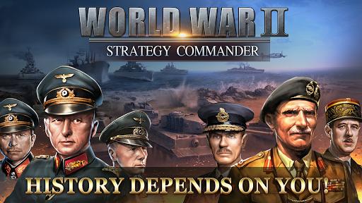 بازی اندروید فرمانده پیروز خط مقدم جنگ جهانی دوم - WW2: Strategy Commander Conquer Frontline