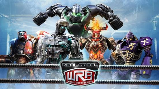 بازی اندروید بوکس واقعی ربات ها - Real Steel World Robot Boxing