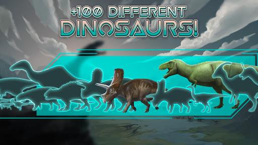 بازی اندروید استاد دایناسور - حقایق بازی های کوچک مسابقه - Dinosaur Master: facts, minigames and quiz