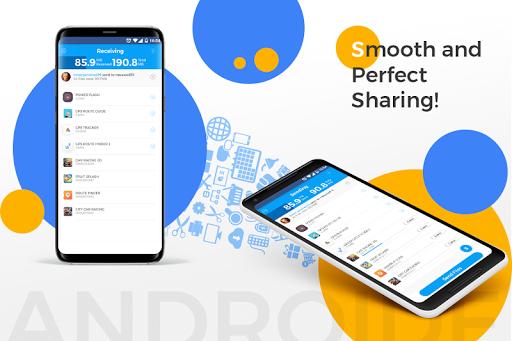 نرم افزار اندروید اشتراک فایل - SHARE ALL for Me : File Transfer & Data Sharing