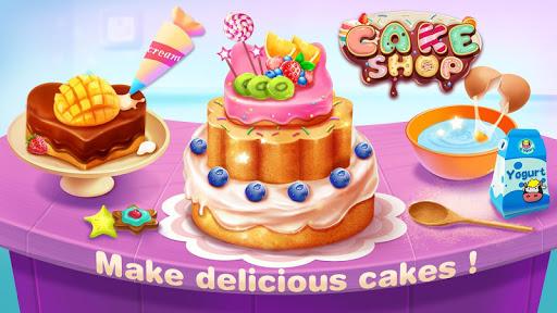 بازی اندروید فروشگاه کیک -  پخت و پز کودکان و نوجوانان - Cake Shop - Kids Cooking