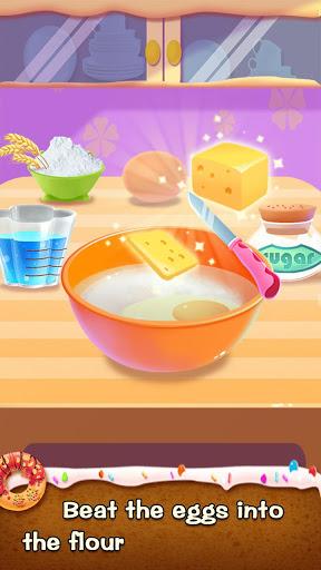 بازی اندروید پخت و پز دونات - Make Donut - Kids Cooking Game