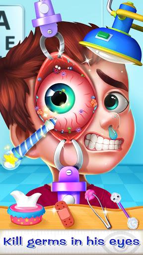 بازی اندروید چشم پزشک بیمارستان - Eye Doctor – Hospital Game