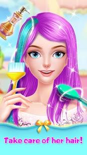 بازی اندروید آرایشگاه مو - میکاپ پرنسس - Hair Salon - Princess Makeup