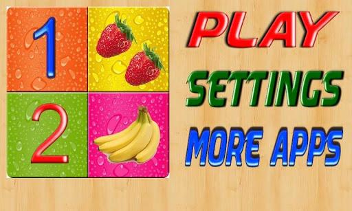 بازی اندروید بازی شمارش کودکان - Kids numbers  counting game