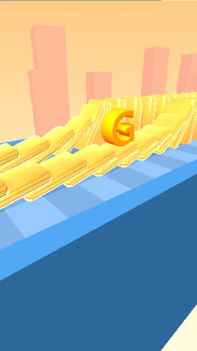 بازی اندروید چرخش الفبا - Type Spin