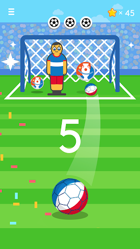 بازی اندروید فوتبال کچاپ - Ketchapp Soccer