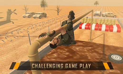 بازی اندروید پایگاه آموزش نظامی آمریکا - US Army Training School Game