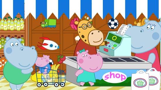 بازی اندروید خرید از سوپر مارکت - Kids Shopping Games