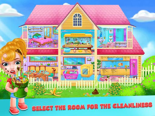 بازی اندروید خانه خود را تمیز نگه دارید - پاکسازی خانه دختران - Keep Your House Clean - Girls Home Cleanup Game