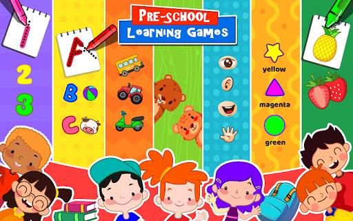 بازی اندروید بازی های یادگیری کودکان پیش دبستانی - 40 بازی کودکانه - Kids Preschool Learning Games - 40 Toddler games