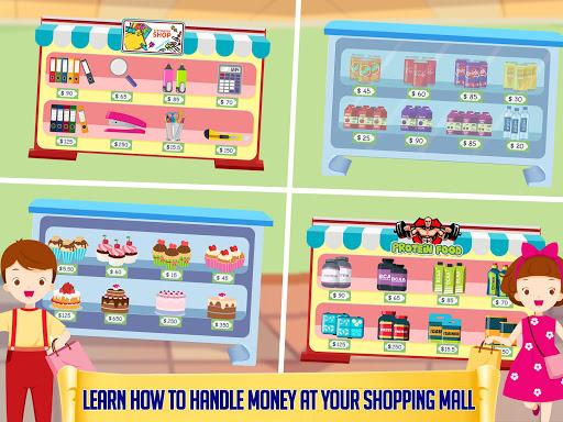 بازی اندروید فروشگاه مواد غذایی کودکان - Grocery Market Kids Cash Register - Games for Kids