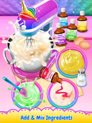 بازی اندروید گوشت تک شاخ - غذای شیرین مرسوم مد روز - Unicorn Poop - Sweet Trendy Desserts Food Maker