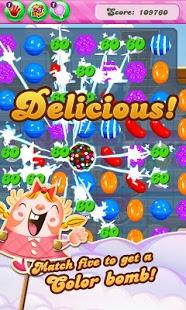 بازی اندروید حماسه شکستن آبنبات - Candy Crush Saga